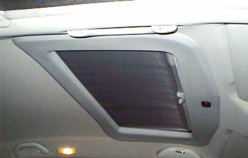 BLU 800 Elektrikli / 801 One-Touch Sunroof