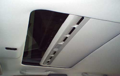 T 3000 / One-Touch Sunroof